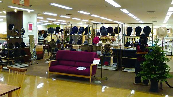 東急渋谷本店 ファーフェルトハットフェア