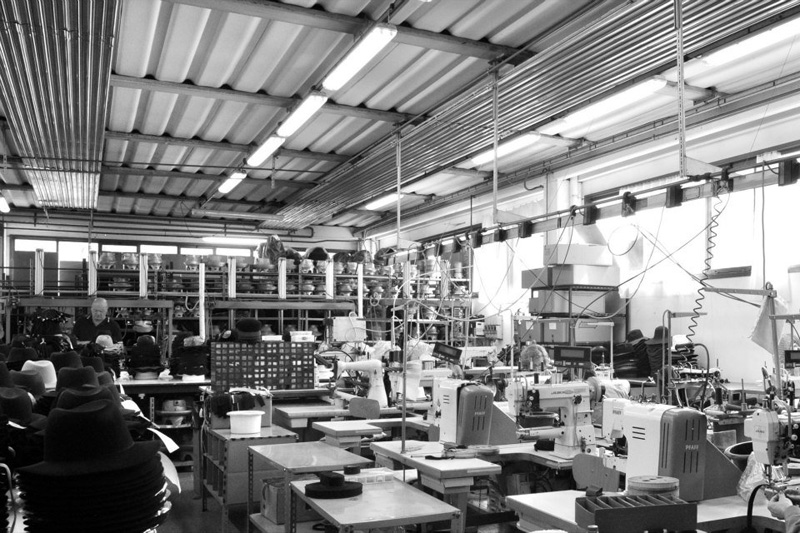 パニッツァの工場