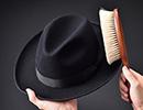 帽子のお手入れ・保管方法
