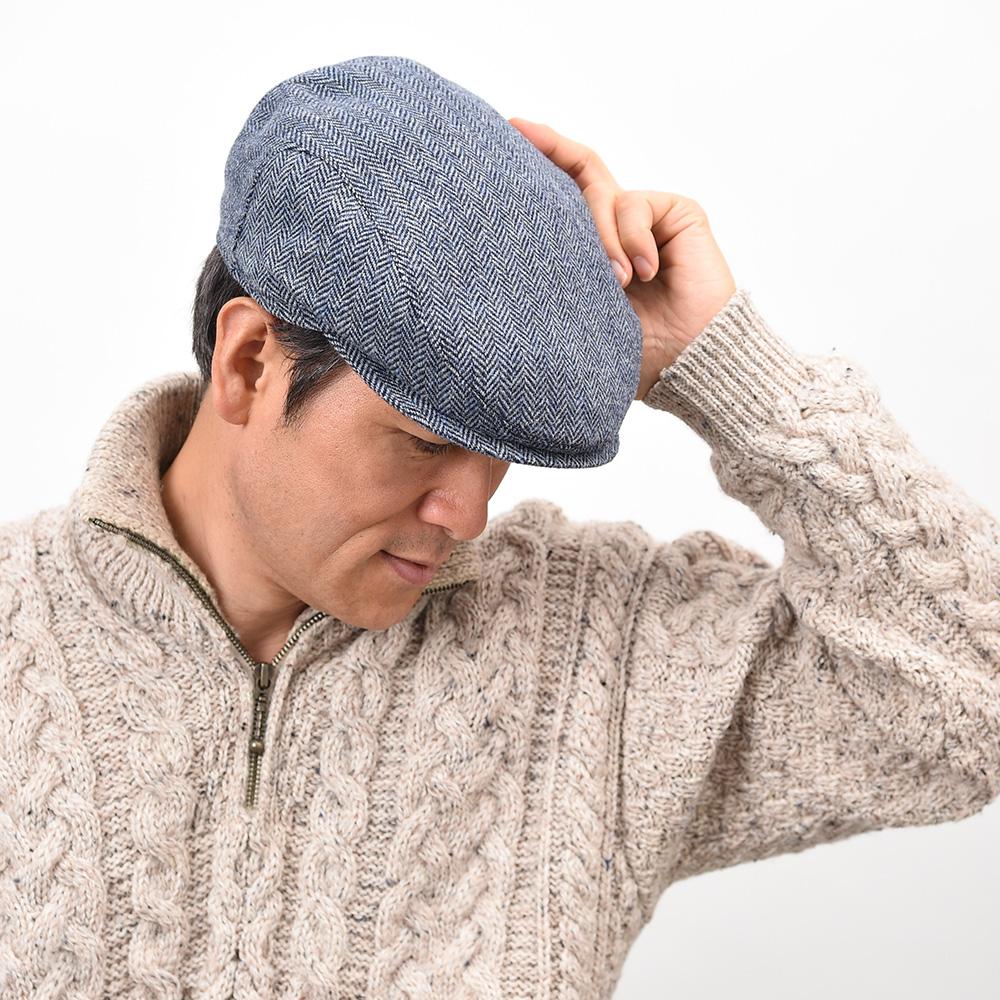 帽子のサイズが合っていない