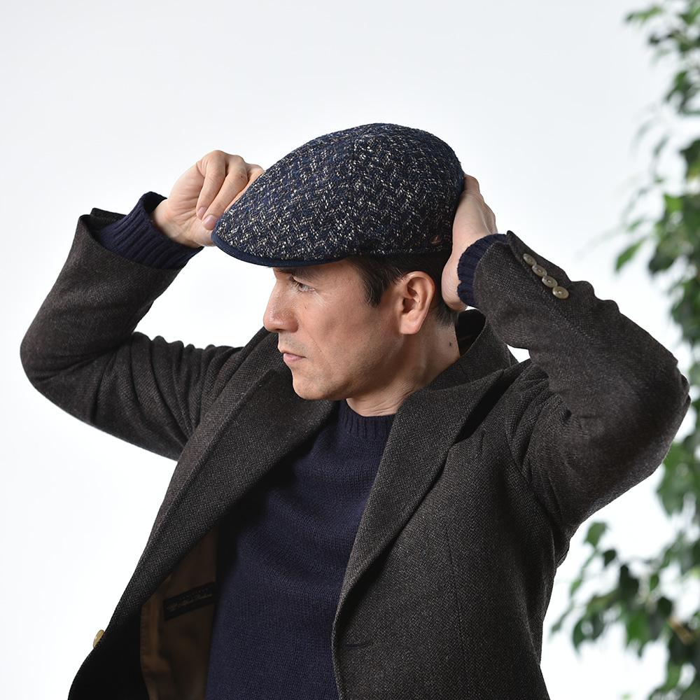 帽子をかぶり慣れていない・見慣れていない