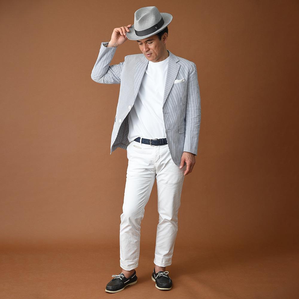 帽子と服装をトータルで考える