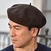 ベレー帽のかぶり方
