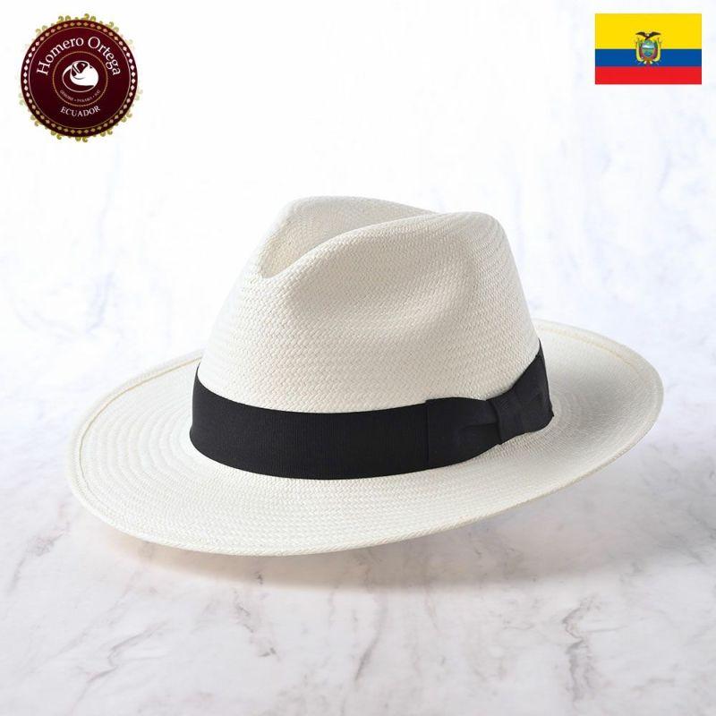 帽子 パナマハット Homero Ortega(オメロオルテガ) PRIMERA(プリメーラ)ホワイト