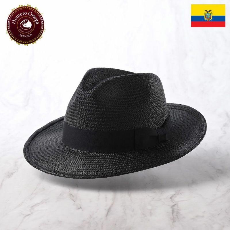 帽子 パナマハット Homero Ortega(オメロオルテガ) PRIMERA(プリメーラ)ブラック