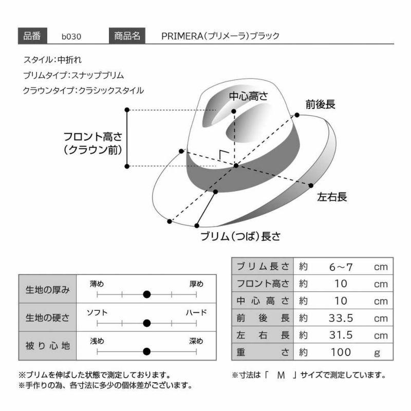 PRIMERA(プリメーラ)ブラック モデル写真