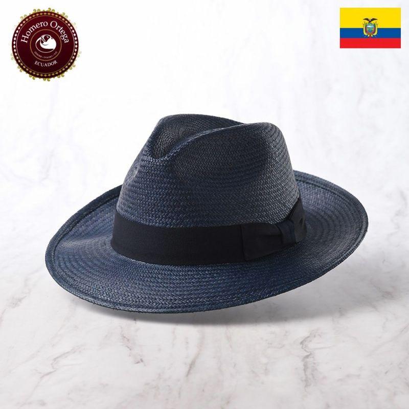 帽子 パナマハット Homero Ortega(オメロオルテガ) PRIMERA(プリメーラ)ネイビー