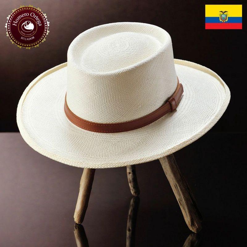 帽子 パナマハット Homero Ortega(オメロオルテガ) FEDORA 2V(フェドラ 2V)