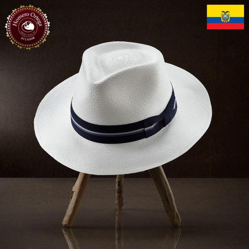 帽子 パナマハット Homero Ortega(オメロオルテガ) TEJADO(テハド)ホワイト