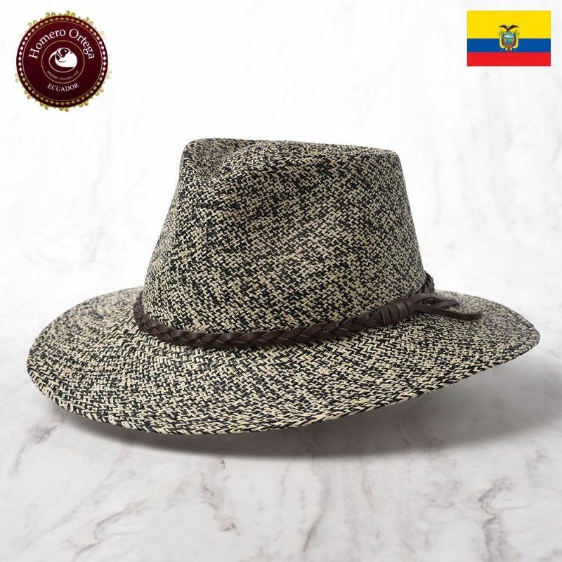 帽子 パナマハット Homero Ortega(オメロオルテガ) INDIANA(インディアナ)ブラック