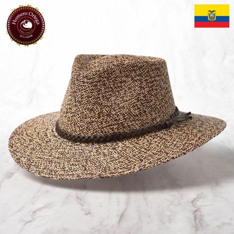 帽子 パナマハット Homero Ortega(オメロオルテガ) INDIANA(インディアナ)ブラウン
