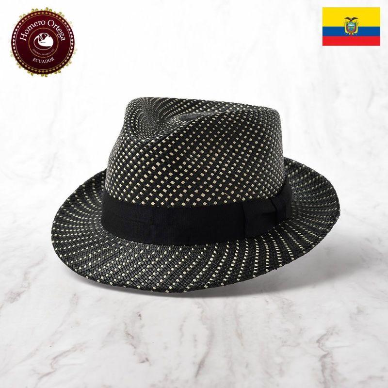 帽子 パナマハット Homero Ortega(オメロオルテガ) ESTRELLA(エストレヤ)ブラック