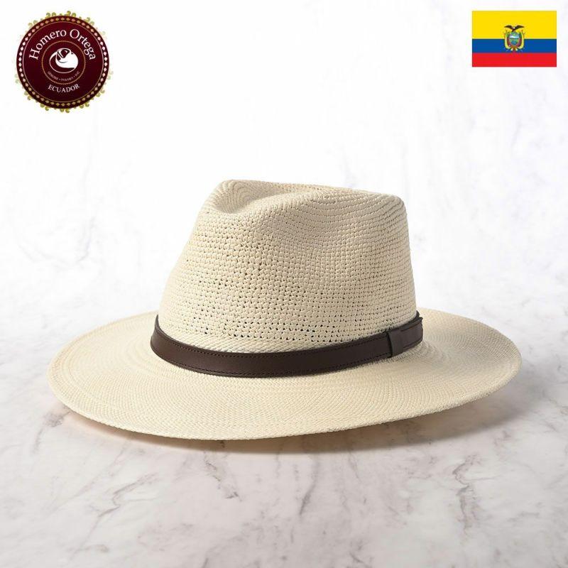 帽子 パナマハット Homero Ortega(オメロオルテガ) BMP CUERO(BMP クエロ)