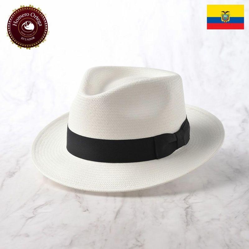 帽子 パナマハット Homero Ortega(オメロオルテガ) ROCK(ロック)ホワイト