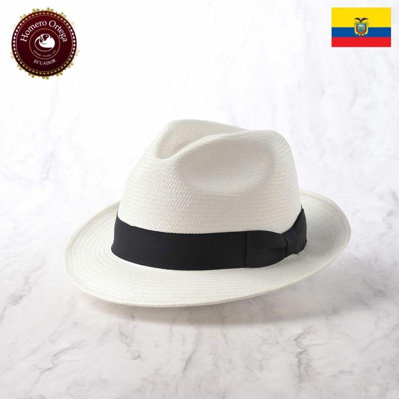 帽子 パナマハット Homero Ortega(オメロオルテガ) CAZADOR BLANCO(カサドール ブランコ)