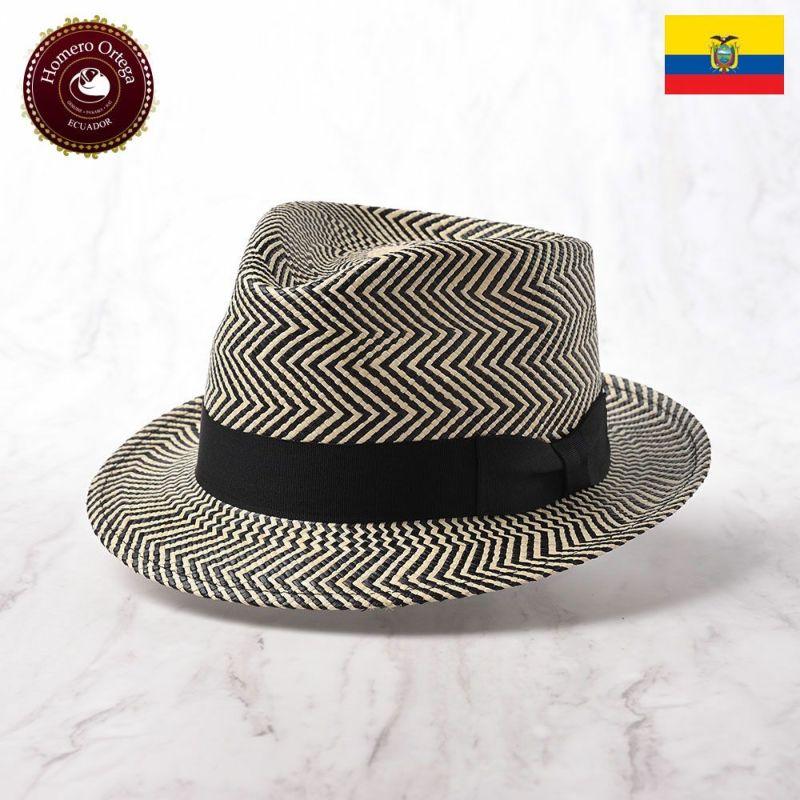 帽子 パナマハット Homero Ortega(オメロオルテガ) CARIBE(カリブ)ブラック