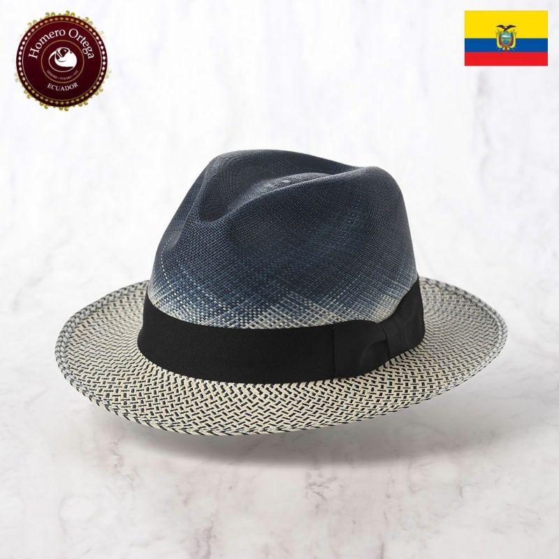 帽子 パナマハット Homero Ortega(オメロオルテガ) MAREA(マレーア)ブルー