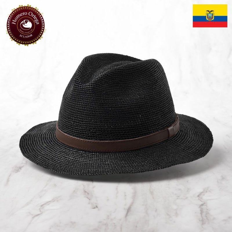 帽子 パナマハット Homero Ortega(オメロオルテガ) CANTARE(カンターレ)ブラック