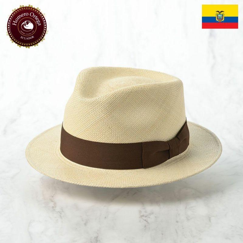 帽子 パナマハット Homero Ortega(オメロオルテガ) PUNTO(プント)ナチュラル