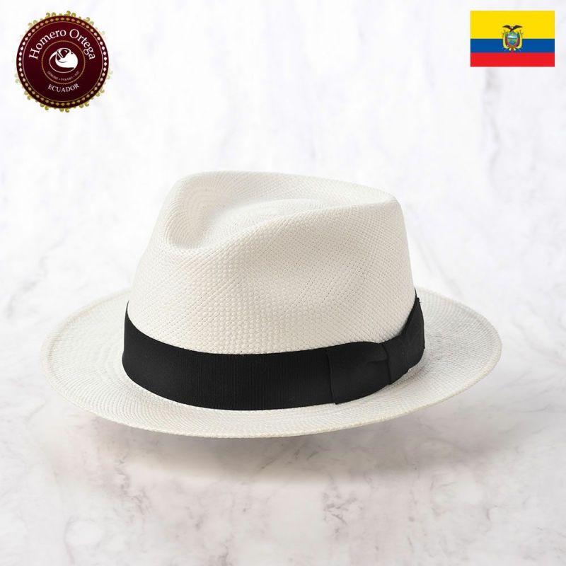 帽子 パナマハット Homero Ortega(オメロオルテガ) PUNTO(プント)ホワイト