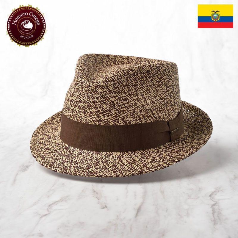 帽子 パナマハット Homero Ortega(オメロオルテガ) PIMIENTA(ピミエンタ)ブラウン