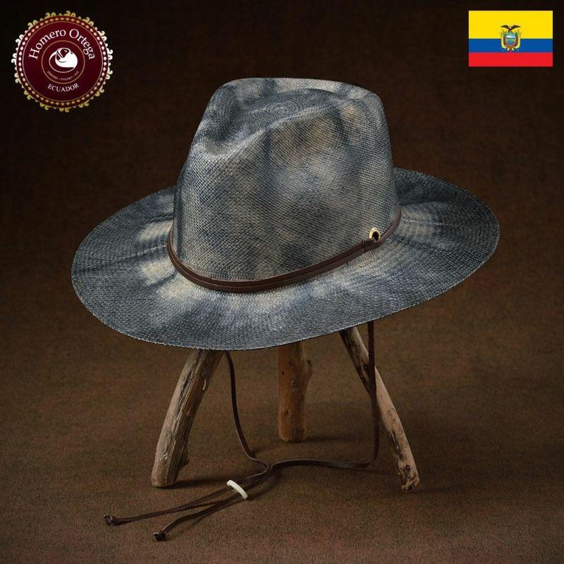 帽子 パナマハット Homero Ortega(オメロオルテガ) Tie Dye(タイ ダイ)ビンテージ