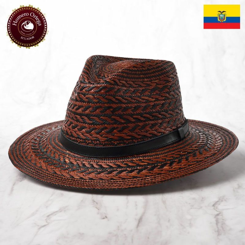 帽子 パナマハット Homero Ortega(オメロオルテガ) TAMBOR(タンバー)