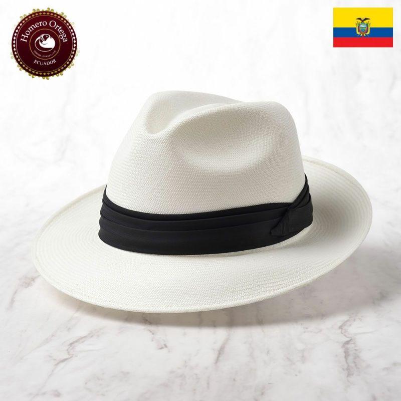 帽子 パナマハット Homero Ortega(オメロオルテガ) CAVALIERE NUEVO(カバリエレ ヌエボ)ホワイト
