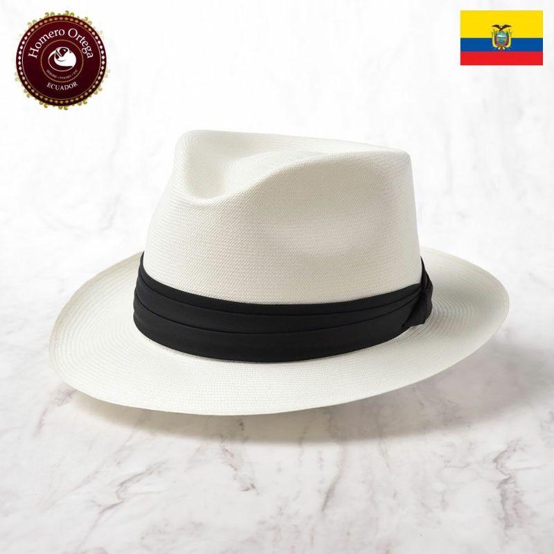 帽子 パナマハット Homero Ortega(オメロオルテガ) MOUSE RIVER 66(マウスリバー 66)ホワイト
