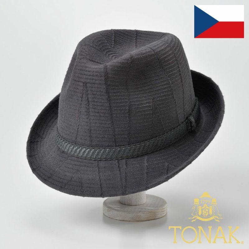 帽子 フェルトハット TONAK(トナック) MOIRE(モアレ)