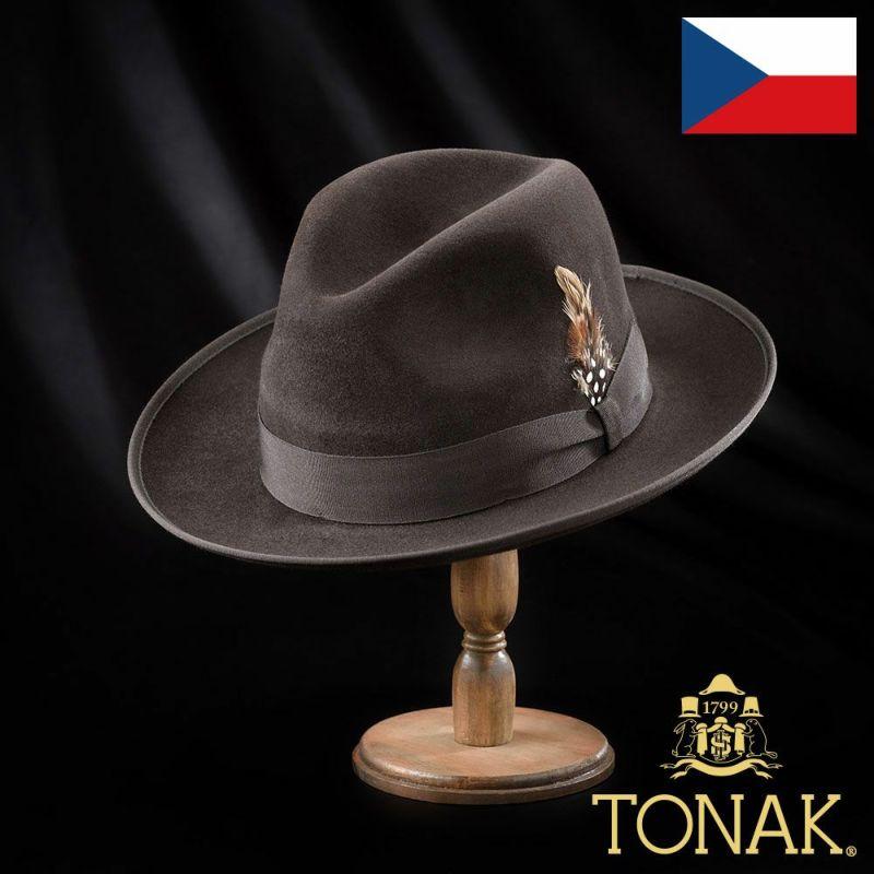 帽子 フェルトハット TONAK(トナック) MONARQUE(モナルク)