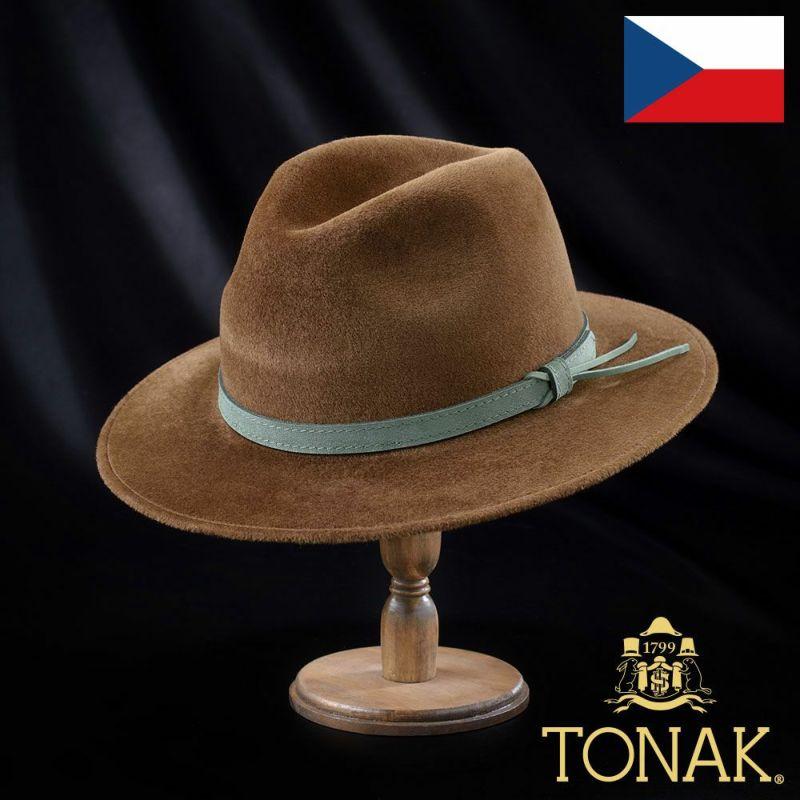 帽子 フェルトハット TONAK(トナック) VAINQUEUR(ヴァンクール)