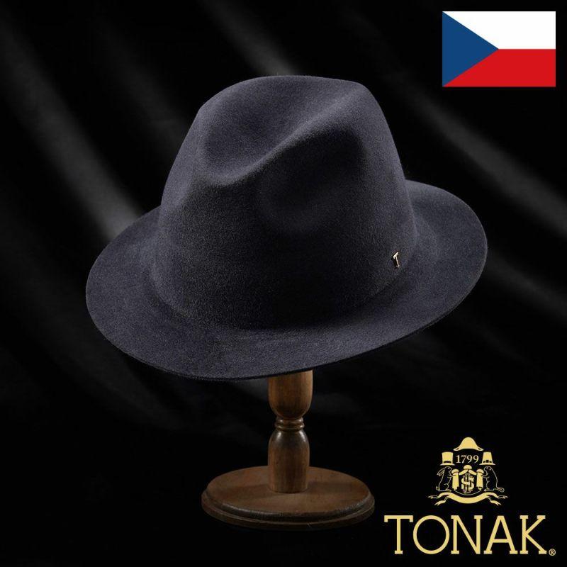 帽子 フェルトハット TONAK(トナック) BLASON(ブラゾン)