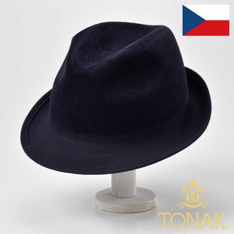 帽子 フェルトハット TONAK(トナック) TRILBY TOKYO(トリルビー トーキョー)ベロア