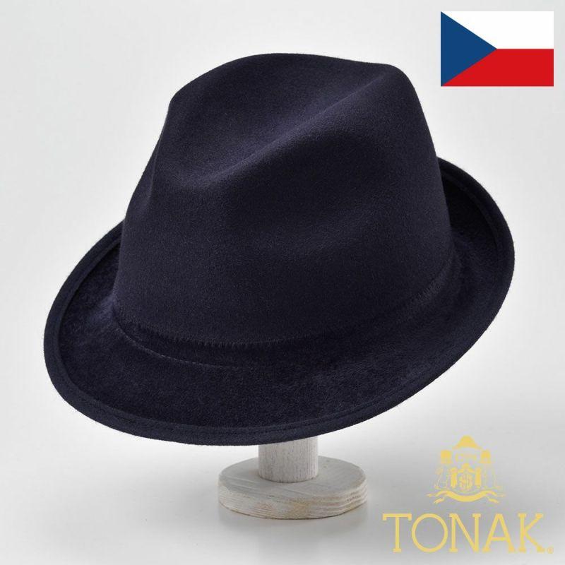 帽子 フェルトハット TONAK(トナック) TRILBY TOKYO(トリルビー トーキョー)スエード