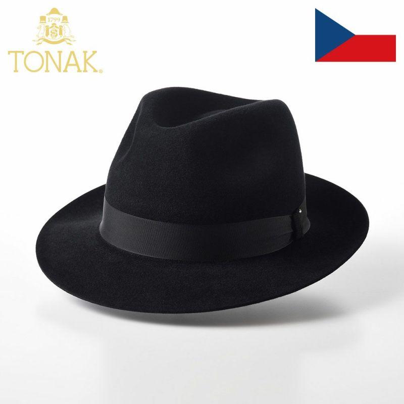 帽子 フェルトハット TONAK(トナック) PARFAIT(パルフェ)ブラック