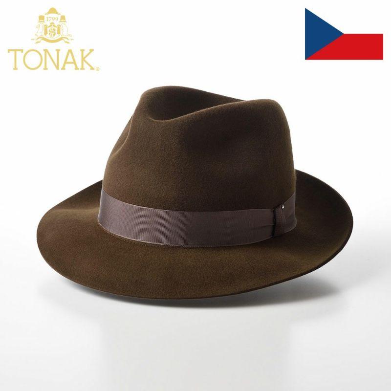 帽子 フェルトハット TONAK(トナック) PARFAIT(パルフェ)カーキ