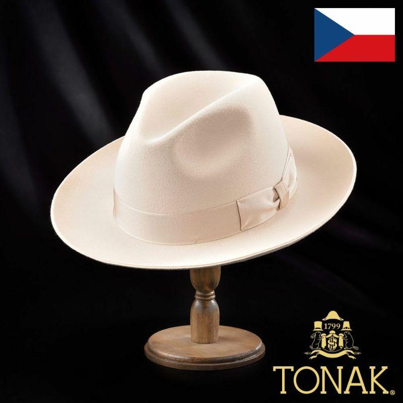 帽子 フェルトハット TONAK(トナック) KREM(クレム)