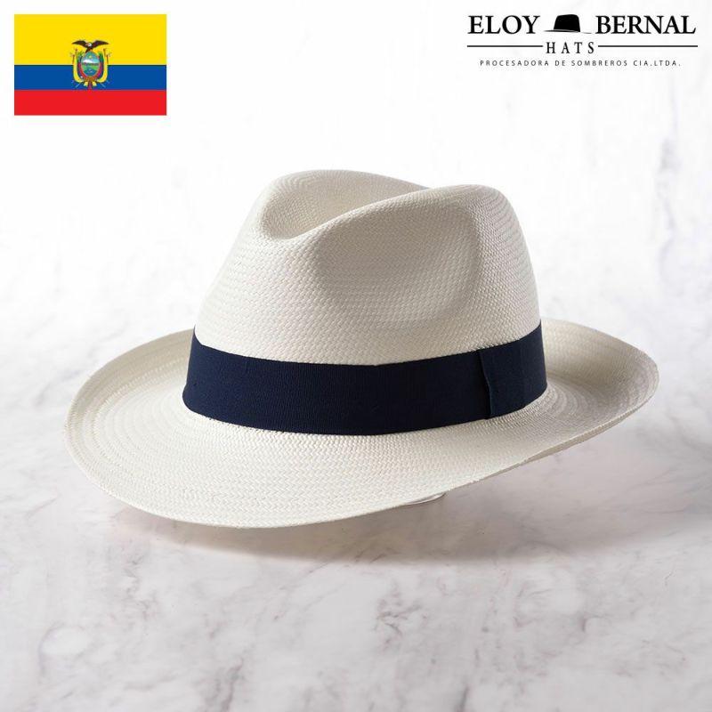 帽子 パナマハット ELOY BERNAL(エロイベルナール) ALIANZA(アリアンサ)ネイビー