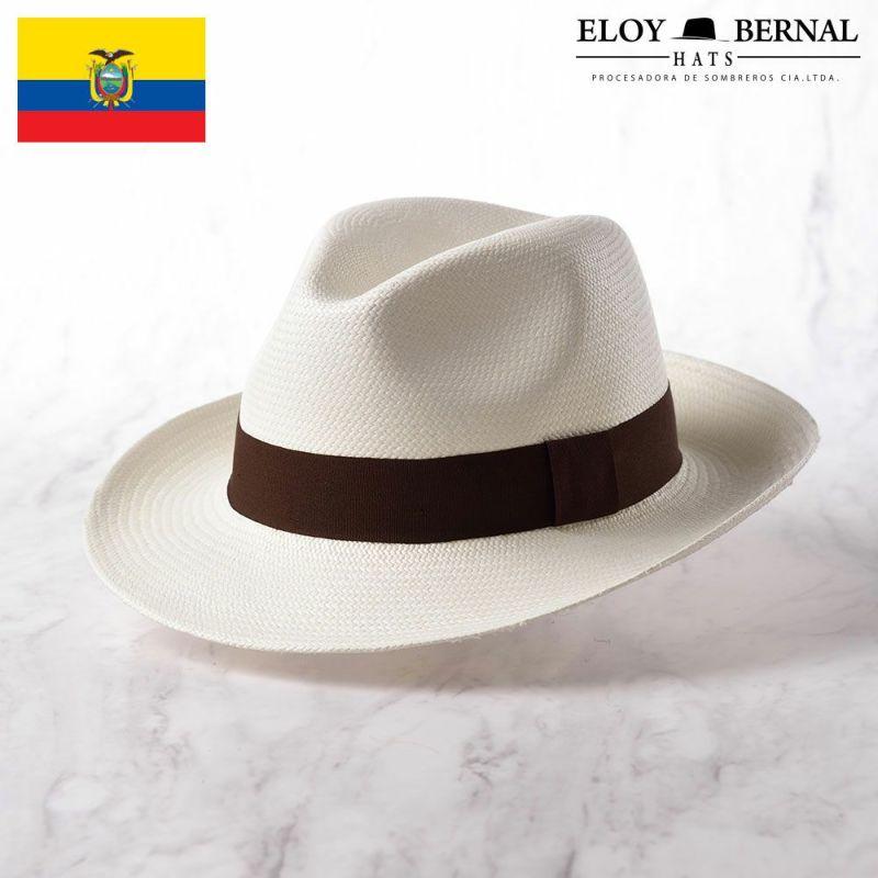 帽子 パナマハット ELOY BERNAL(エロイベルナール) ALIANZA(アリアンサ)ブラウン