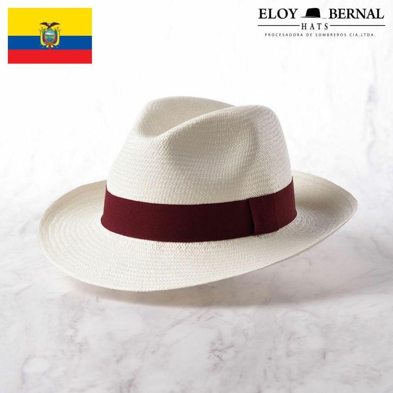 帽子 パナマハット ELOY BERNAL(エロイベルナール) ALIANZA(アリアンサ)ワインレッド