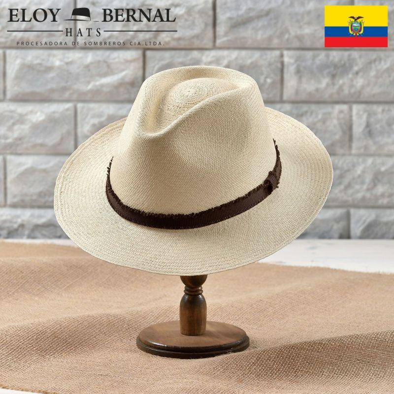 帽子 パナマハット ELOY BERNAL(エロイベルナール) PUERTA(プエルタ)ナチュラル