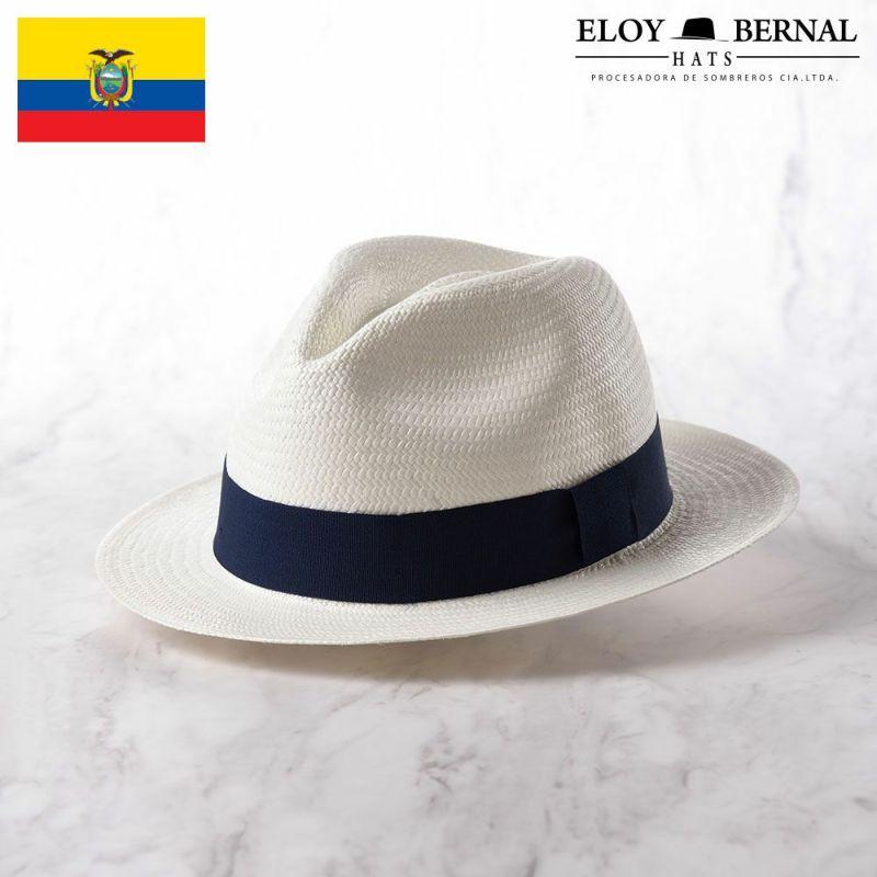 帽子 パナマハット ELOY BERNAL(エロイベルナール) Acuarela(アクアレーラ)ネイビー