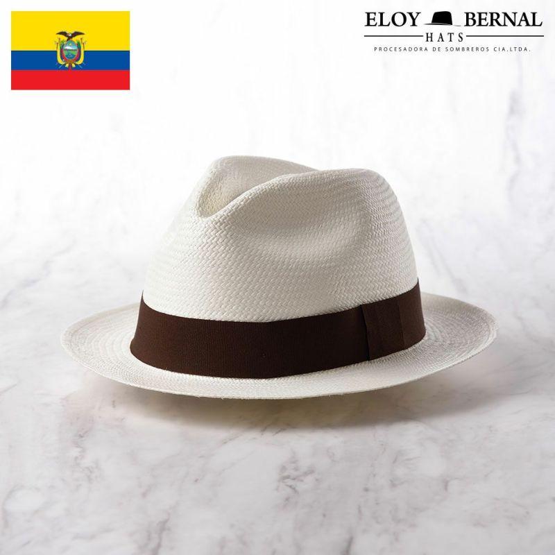 帽子 パナマハット ELOY BERNAL(エロイベルナール) Acuarela(アクアレーラ)ブラウン