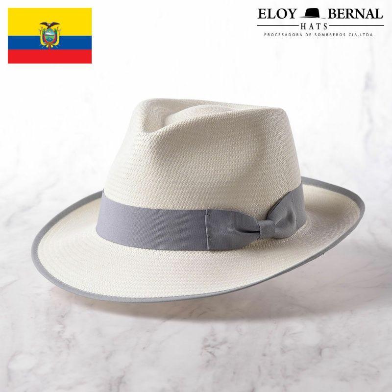 帽子 パナマハット ELOY BERNAL(エロイベルナール) METEORO(メテオロ)ホワイト