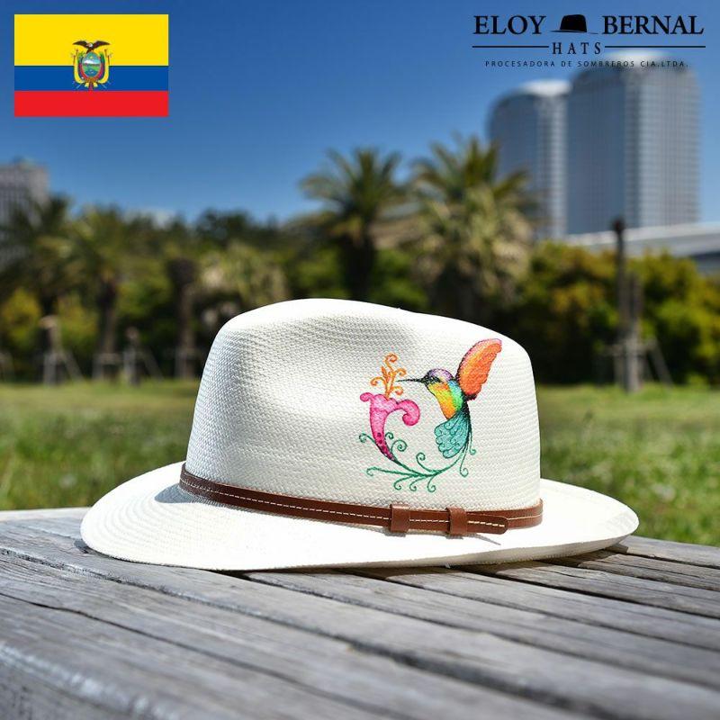 帽子 パナマハット ELOY BERNAL(エロイベルナール) COLORIDO(コロリード)