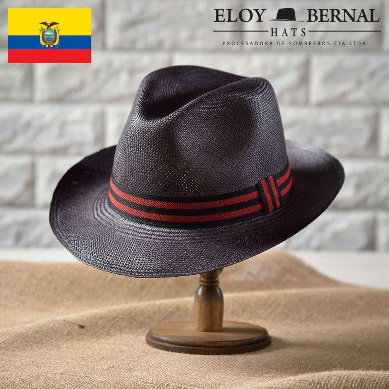 帽子 パナマハット ELOY BERNAL(エロイベルナール) RIMPIO(リンピオ)ストライプ05