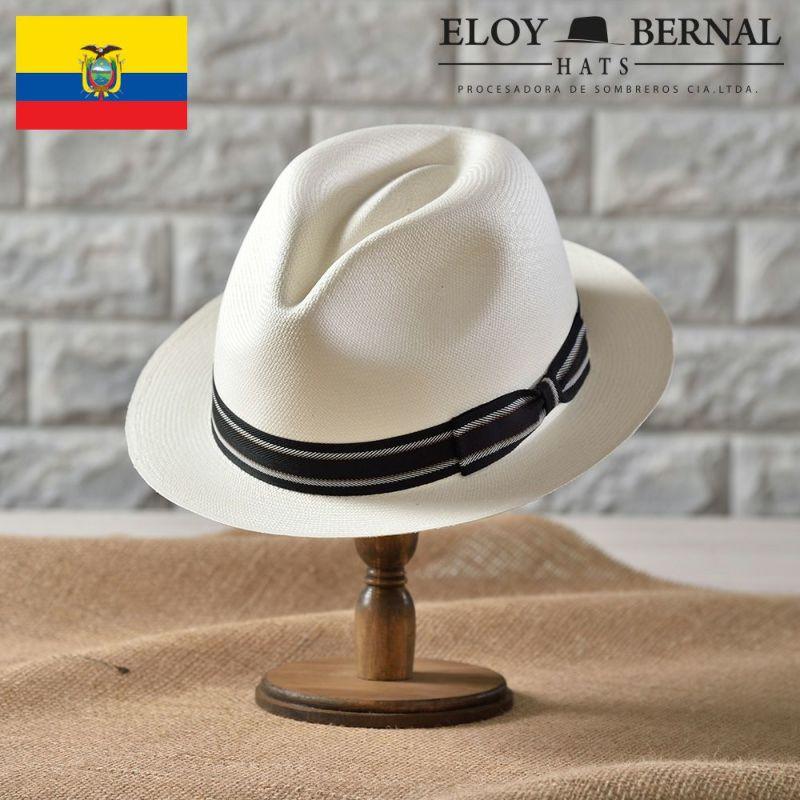 帽子 パナマハット ELOY BERNAL(エロイベルナール) REFINADO(レフィナード)ホワイト