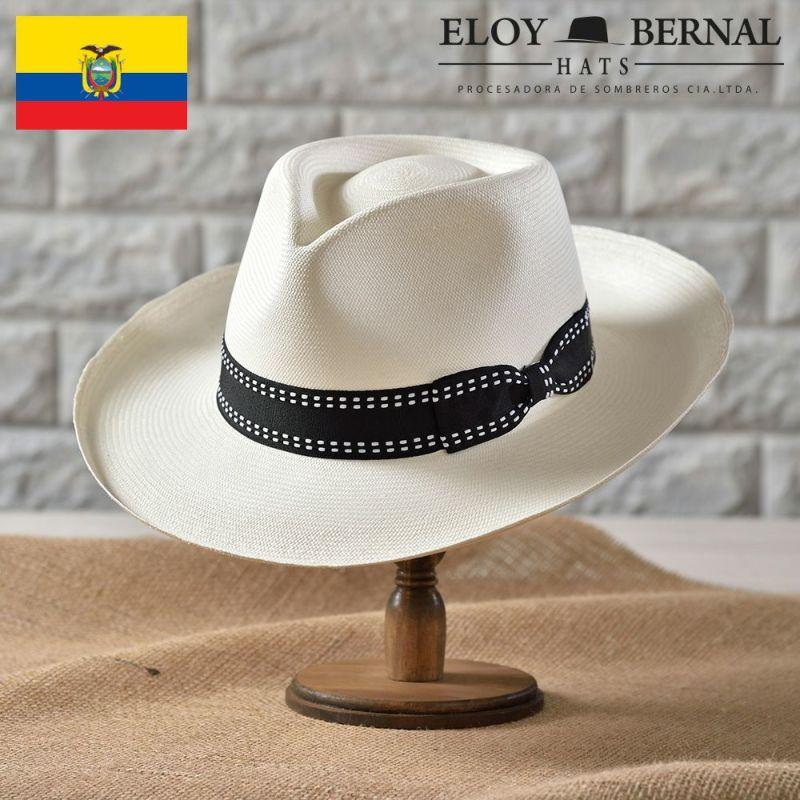 帽子 パナマハット ELOY BERNAL(エロイベルナール) ULTIMO(ウルティモ)ホワイト