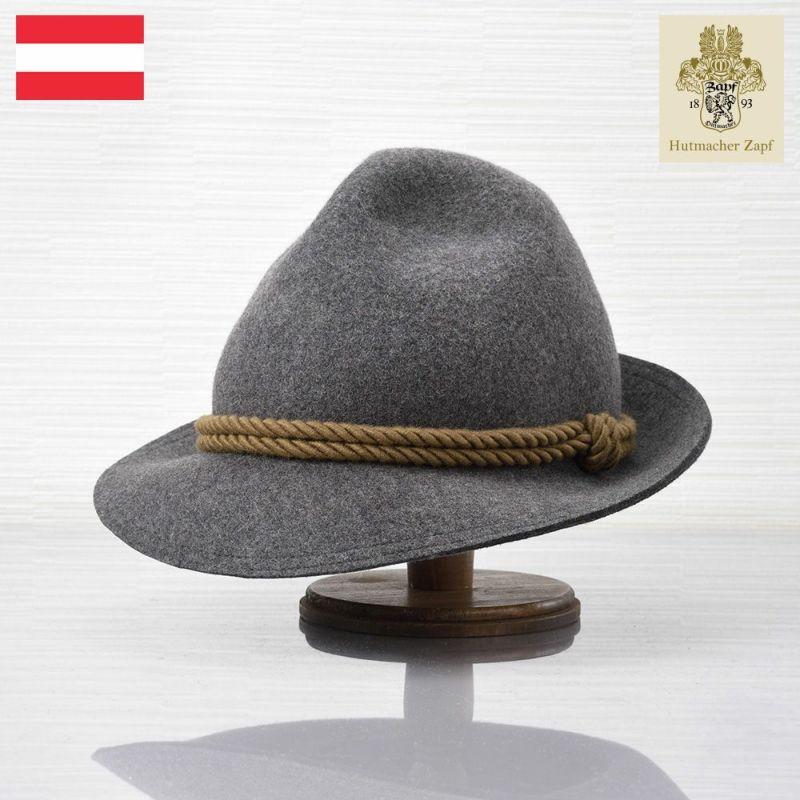 帽子 フェルトハット Zapf(ツァップ) Jaganaz Grau(ヤガナツ グラウ)